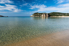Strand in Griekenland Royalty-vrije Stock Afbeelding