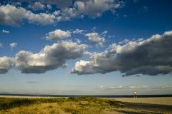 Strand, Griekenland-Paralia royalty-vrije stock foto