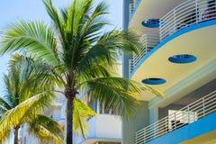 strand härliga miami fotografering för bildbyråer