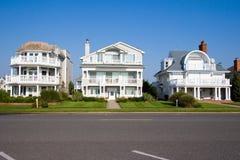 Strand-Häuser Lizenzfreies Stockfoto