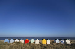 Strand-Hütten Lizenzfreies Stockfoto