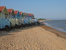 Strand-Hütten Stockfoto