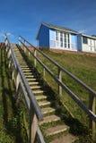 Strand-Hütten bei Sandilands Lizenzfreies Stockbild