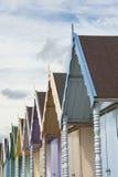 Strand-Hütten bei West-Mersea Lizenzfreie Stockfotos