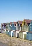 Strand-Hütten bei West-Mersea Lizenzfreie Stockbilder