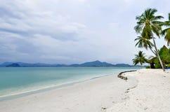 Strand Haad Sivalai auf Mook-Insel lizenzfreies stockfoto
