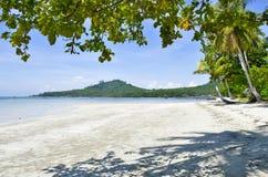 Strand Haad Sivalai auf Mook-Insel stockfotos