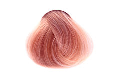 Strand of hair color stock photos