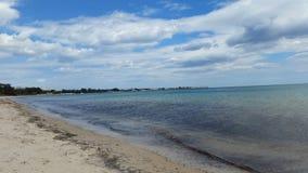 Strand Hammamet royalty-vrije stock afbeeldingen