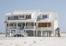 Strand-Haus lizenzfreies stockfoto