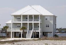 Strand-Haus stockbild