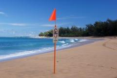 Strand in Hawaii, USA Stockfoto