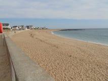 Strand Heilige Valentine Batz op het overzees royalty-vrije stock foto