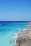 Strand in het eiland van Tenerife - Kanarie Stock Fotografie