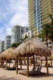 Strand het Noord- van Miami Royalty-vrije Stock Afbeeldingen