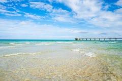 Strand het Noord- van Miami Stock Afbeeldingen
