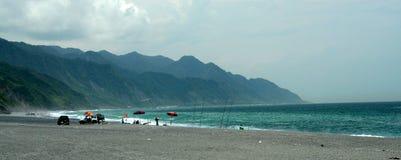 Strand-Hintergrund Lizenzfreies Stockfoto