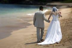 Strand-Hochzeit Stockfotografie
