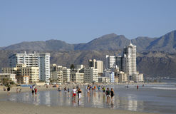 Strand holiday resort South Africa Stock Photography
