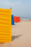 Strand in Holland Stockbilder