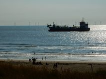 Strand Holland Stock Afbeelding