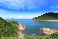 Strand in Hong Kong lizenzfreies stockbild