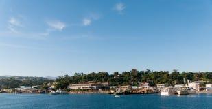 Strand Honiara, Guadalcanal, Solomon Islands fotografering för bildbyråer