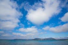 Strand i Alghero, Sardinia Royaltyfria Bilder