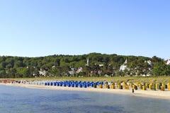 Strand i Binz, Ruegen ö royaltyfri bild