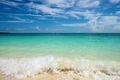 Strand i Boracay Arkivfoton
