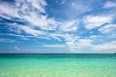 Strand i Boracay Arkivfoto