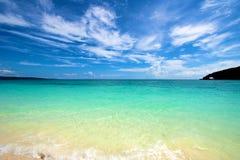 Strand i Boracay Arkivbild