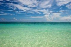 Strand i Boracay Royaltyfri Fotografi
