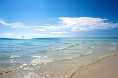 Strand i Boracay Royaltyfria Foton