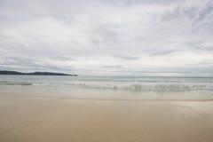 Strand i Boracay, Filippinerna Royaltyfria Foton