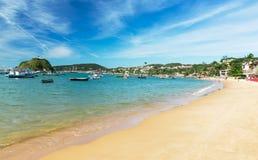 Strand i Buzios, Rio de Janeiro Royaltyfri Foto