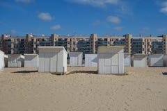Strand i calais Arkivfoton