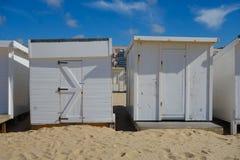 Strand i calais Arkivfoto