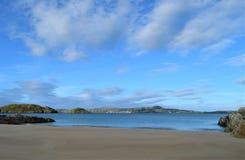 Strand i en Forest Park, Co Donegal Irland royaltyfria foton