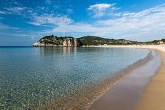 Strand i Grekland Royaltyfri Foto