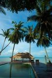 Strand i Koh Phangan Thailand Arkivfoto