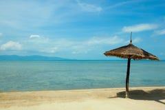 Strand i Koh Phangan Thailand Fotografering för Bildbyråer