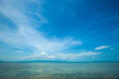 Strand i Koh Phangan Thailand Royaltyfri Fotografi