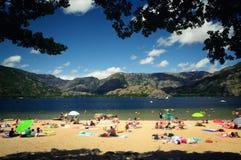 Strand i laken Fotografering för Bildbyråer