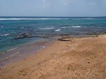 Strand i Las Palmas de Gran Canaria Arkivbilder