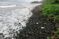 Strand i Limbe Arkivbilder