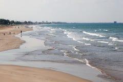 Strand i Muscat, Oman arkivfoton