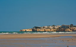 Strand i Oman Royaltyfria Foton