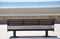 Strand i söderna av Spanien Sand, hav och himmel Utan folk Royaltyfria Foton