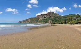 Strand i San Juan del Sur Arkivbilder